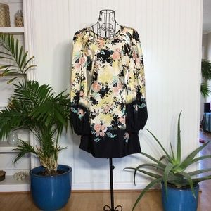 Xhilaration Floral dress size Medium